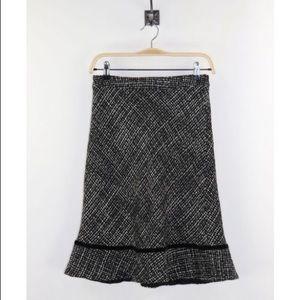Gap | tweed trumpet skirt 4
